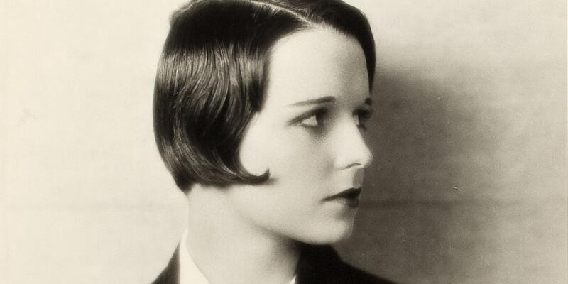 Louise Brooks con il suo famoso taglio a caschetto