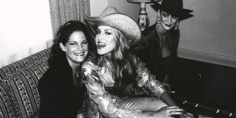 tre donne allo studio54 di new york negli anni 70