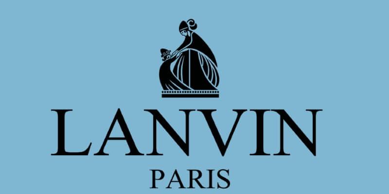il logo di lanvin con la mamma e la bambina