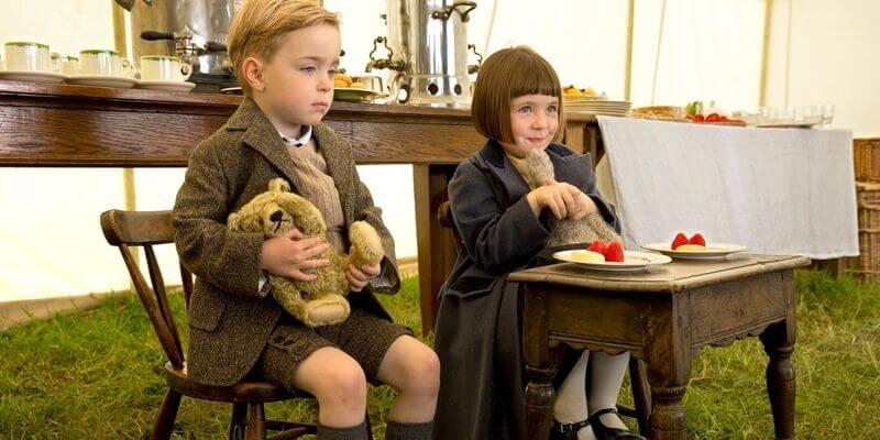 bambini a downton abbey