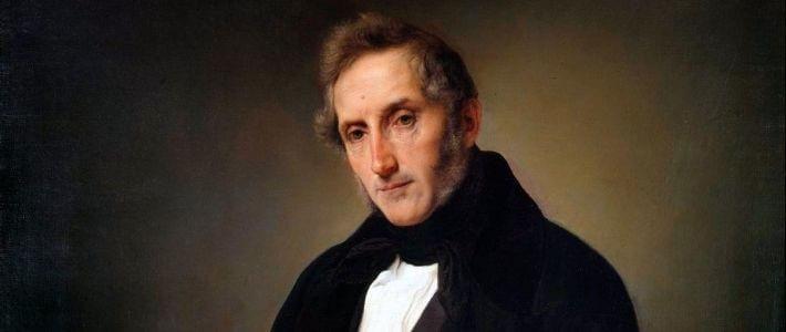Alessandro Manzoni ritratto da Francesco Hayez