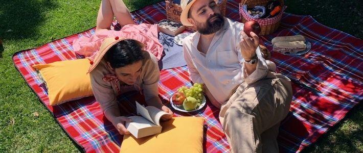 picnic sul prato