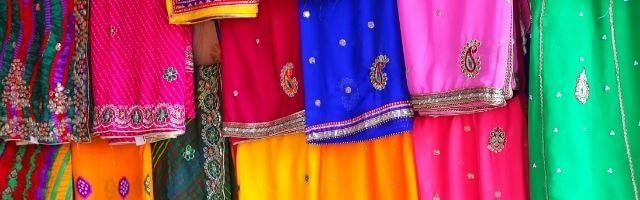 dei sari indiani