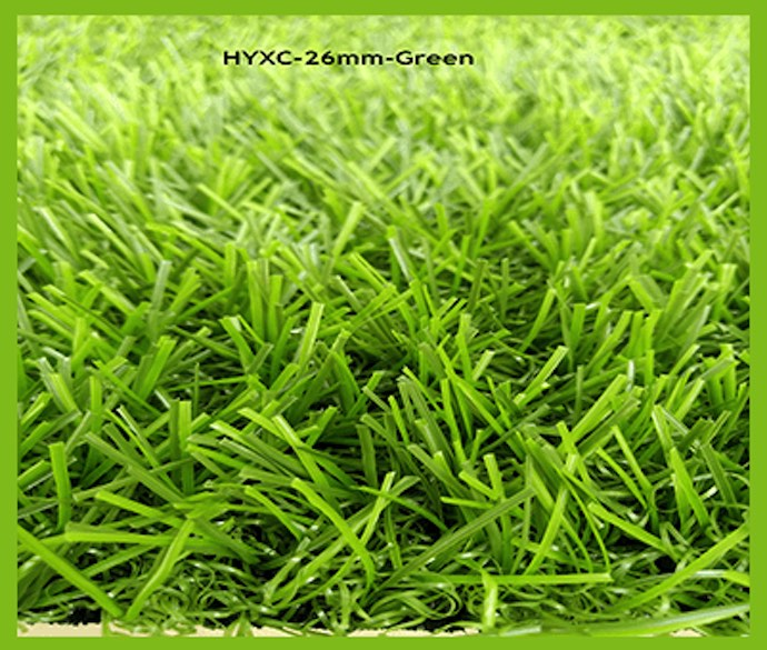 26mm Green Artificial Grass