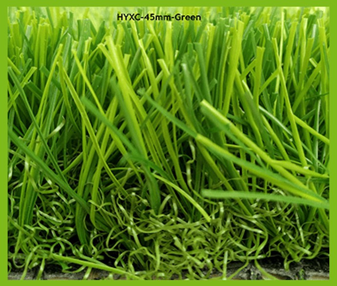 45mm Green Artificial Grass