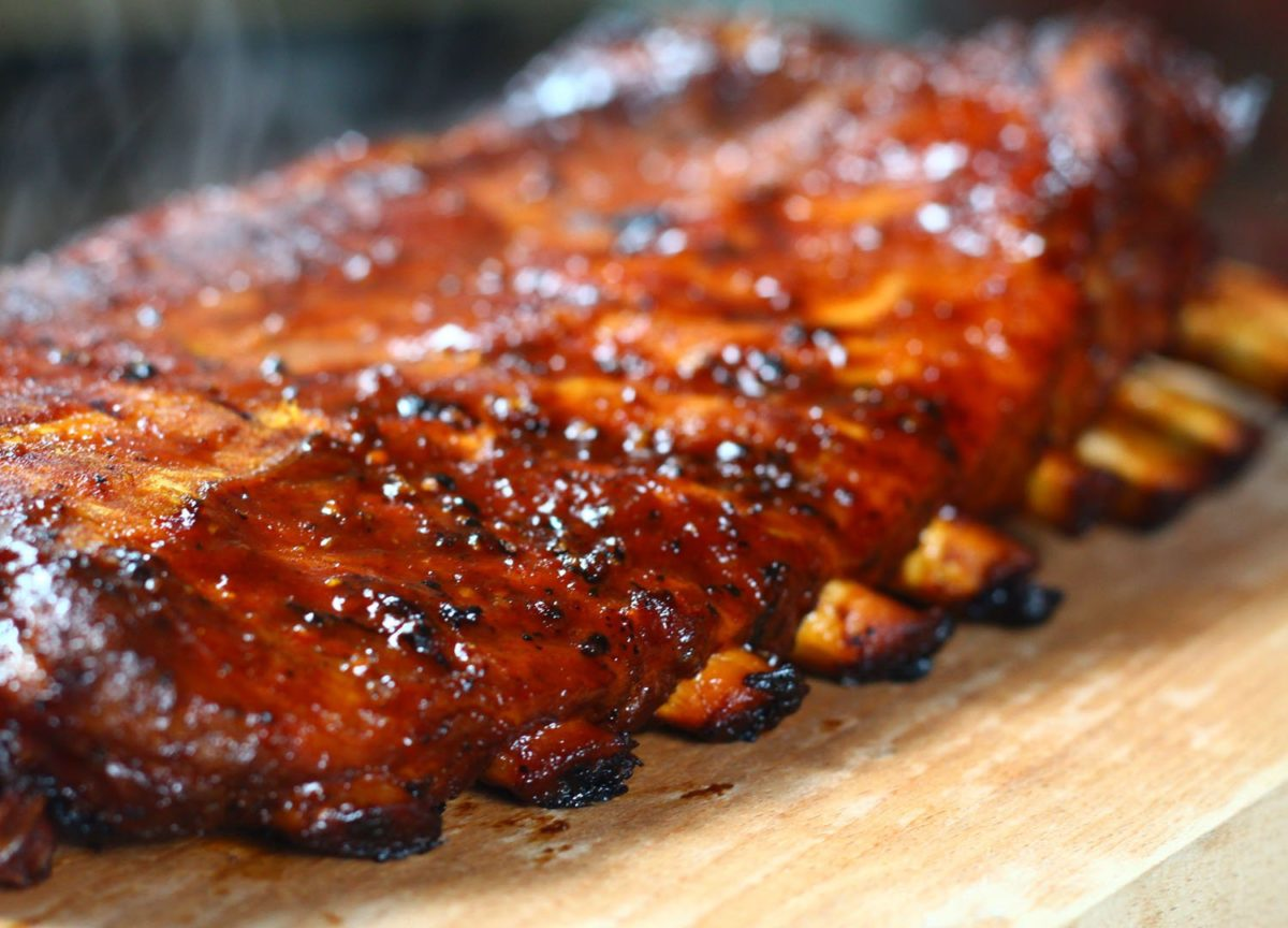 sweet and sticky spare ribs