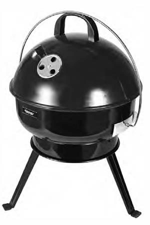36cm round portable BBQ