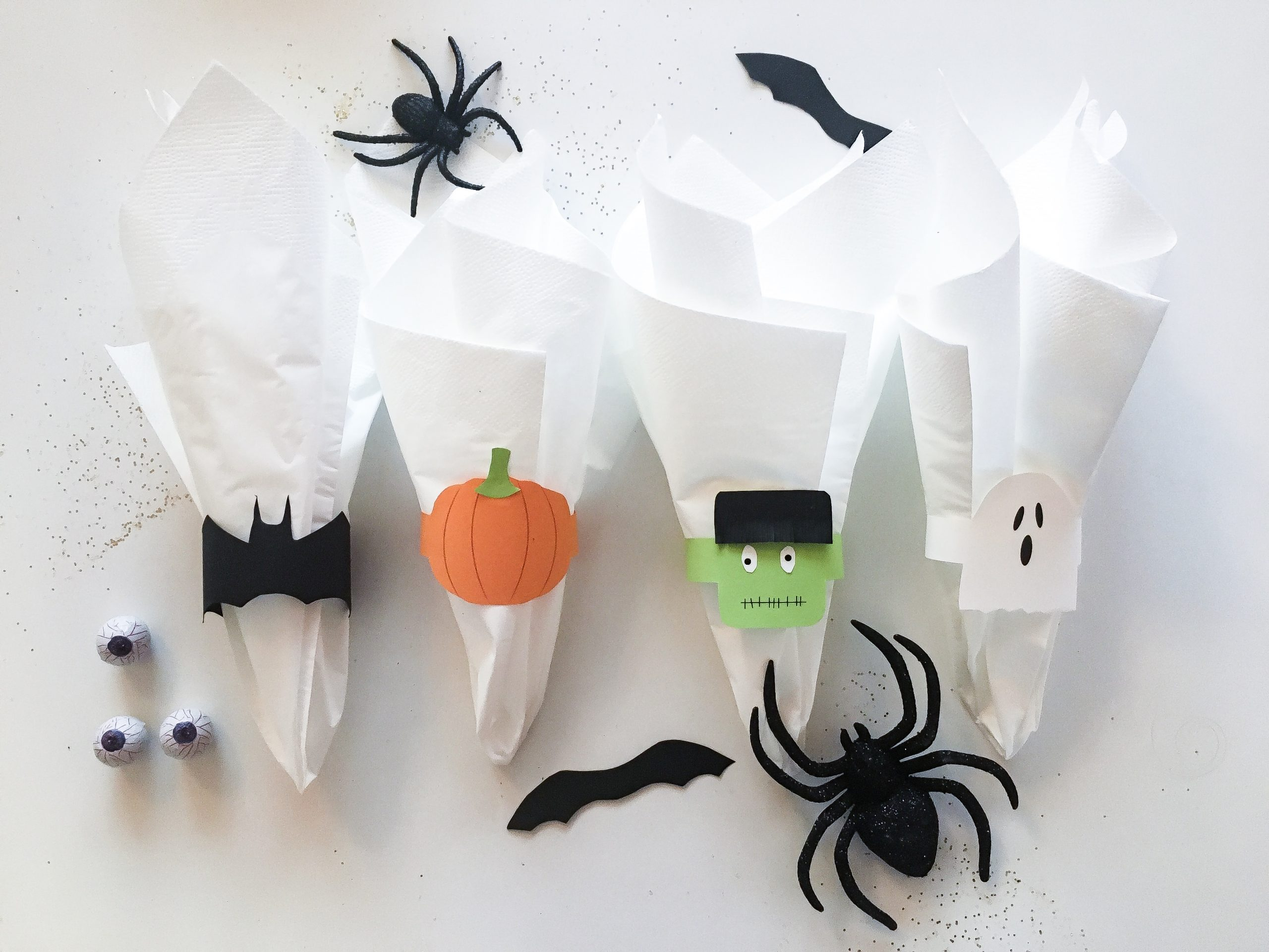 DIY: Halloween servietringe