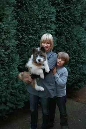 Aemy mit neuer Familie