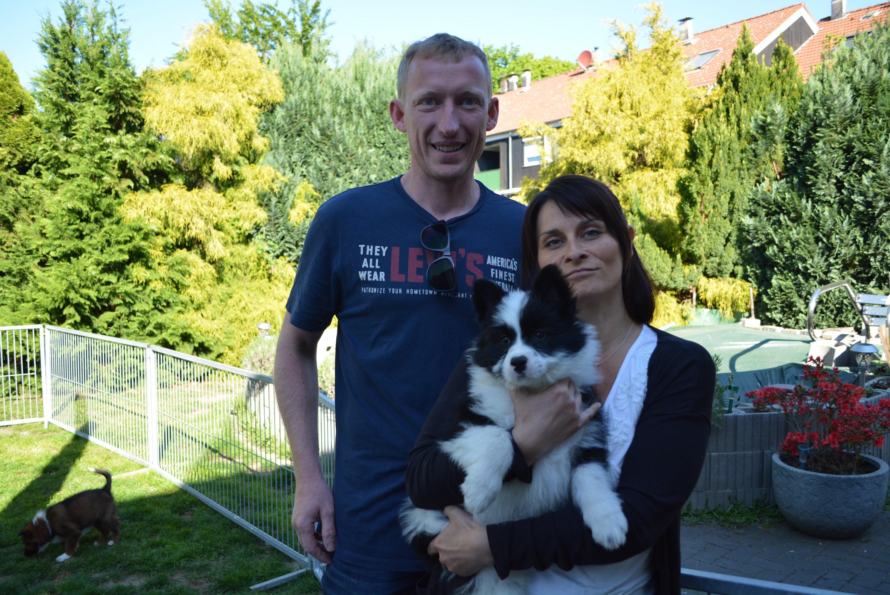Oxana mit neuer Familie