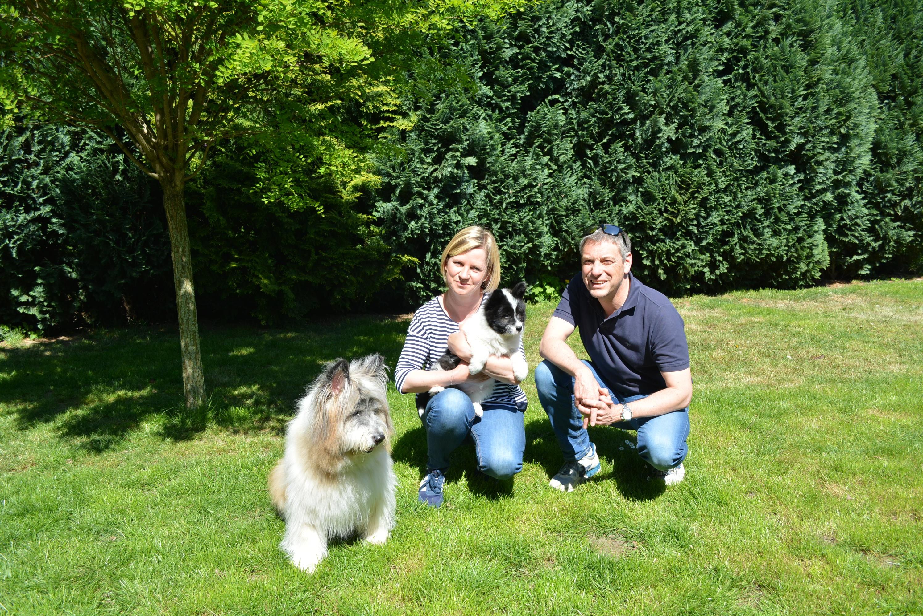 Opala mit neuer Familie