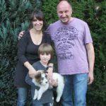 Dala_03, Rufname Leni mit ihrer neuen Familie