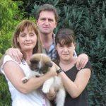 Danilo_03 mit seiner neuen Familie