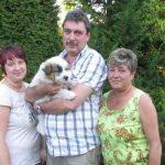 Djuke_03 mit seiner neuen Familie