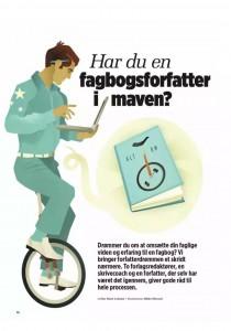 Djøfbladet - tema om fagbogsskriveri