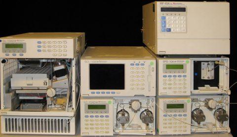 Shimadzu LC-10ADvp-system