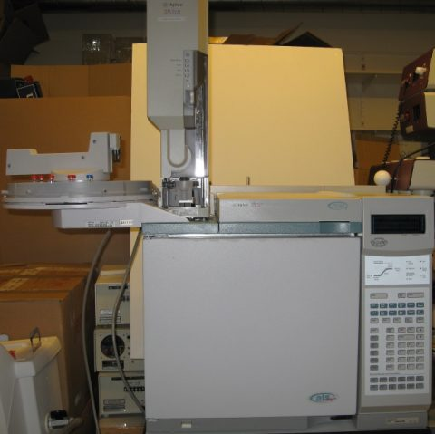 Agilent 6890 Plus GC with Autosampler