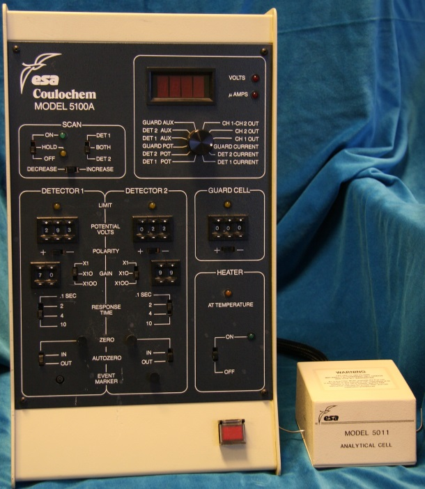 ESA Coulochem 5100A Electrochemical HPLC Detector