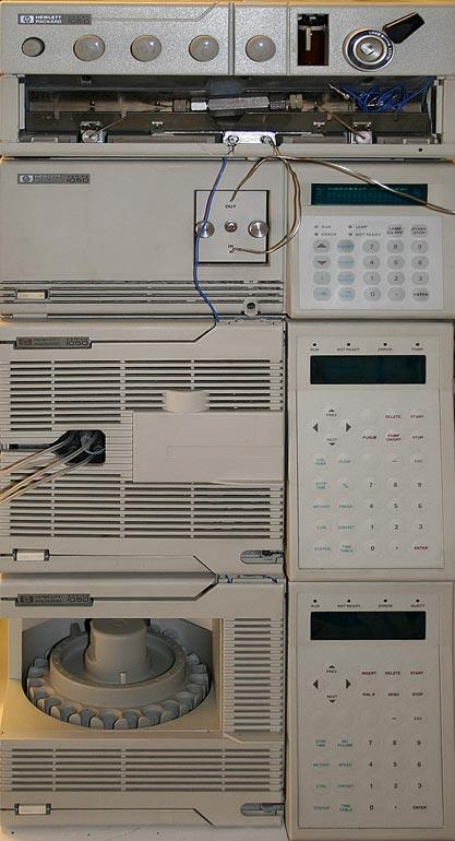 HP 1050 HPLC system