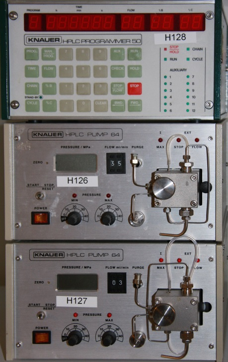 Knauer Gradient System, pumps and controller