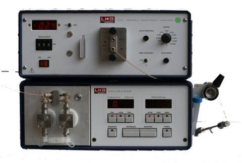 LKB 2150 isocratic HPLC system