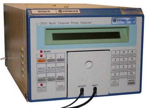 Merck-Hitachi L-3000 UV-VIS Programmable Detector
