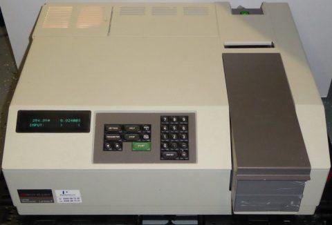 P-E Lamda 2 Spectrophotometer