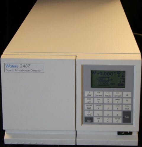 Waters 2487 Programmable 2-channel UV-VIS Detector