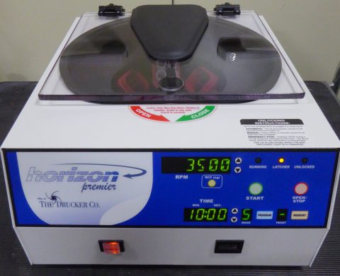Horizon Premier bench centrifuge incl. rotor for 15 ml´s tubes, closed