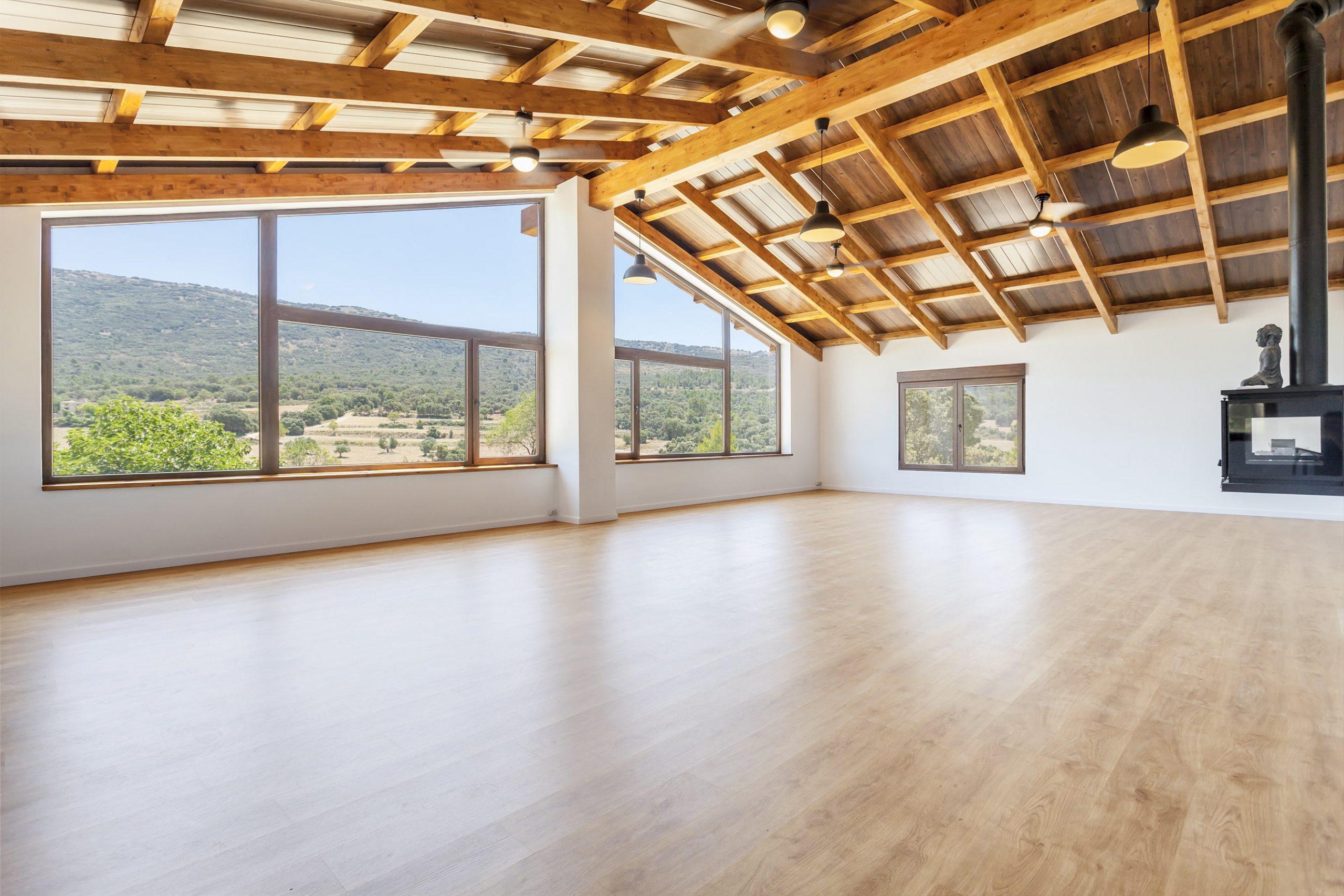 Yoga & Meditation room: