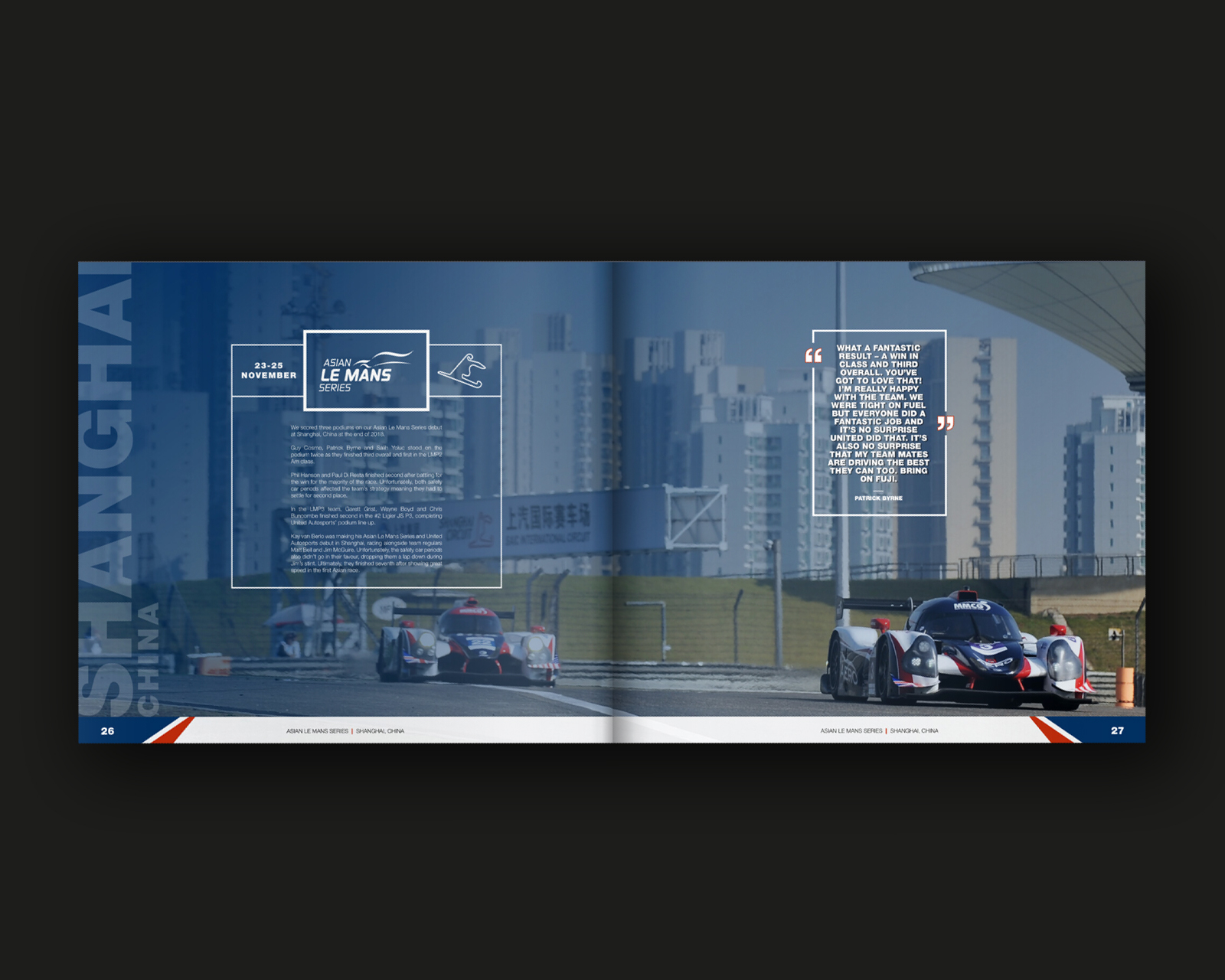 Hard-bound Motorsport Year Book