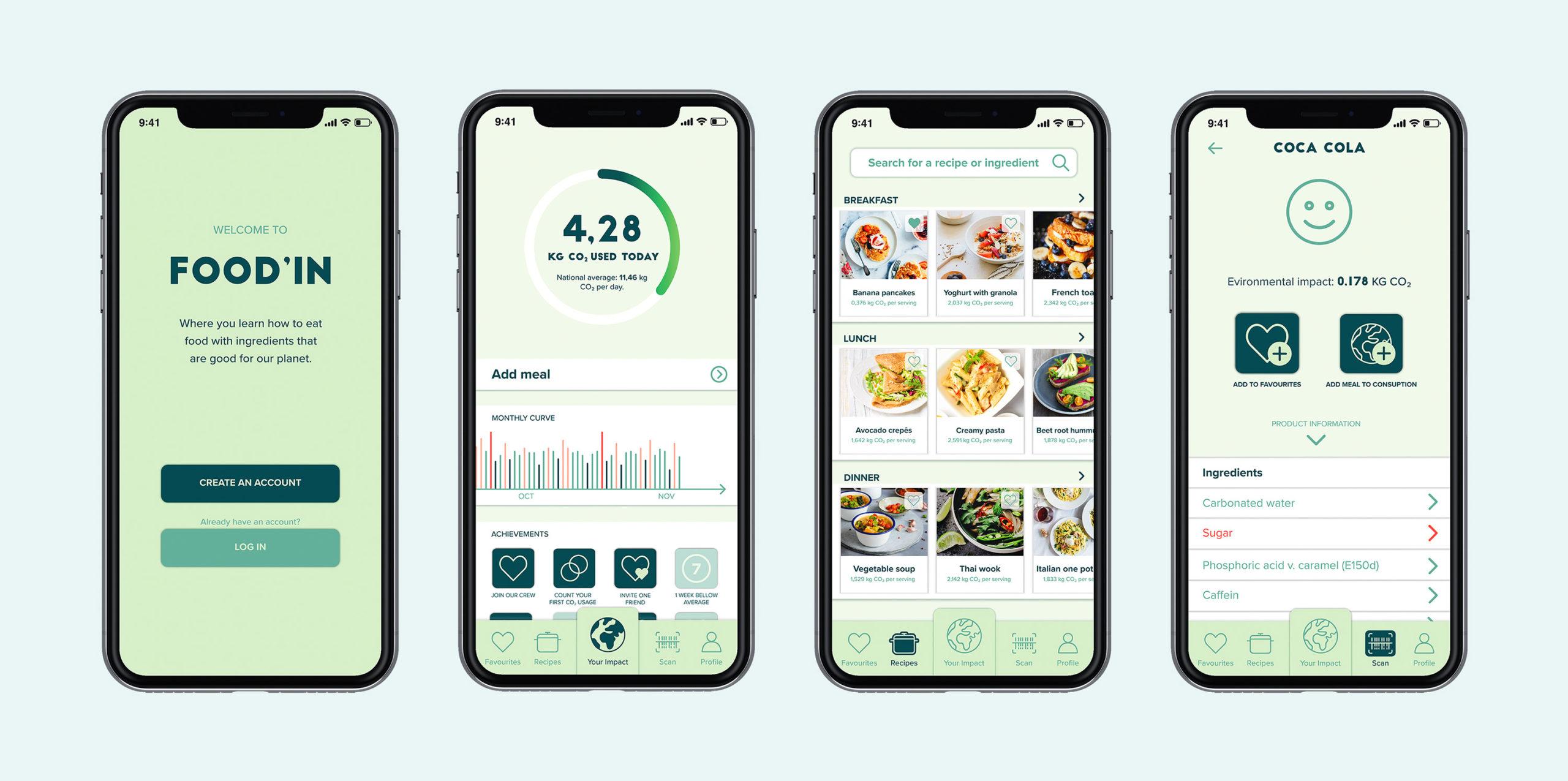 Food In app
