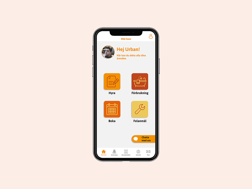app / ux