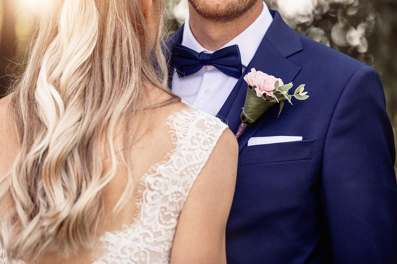 Bröllopsporträtt detaljer
