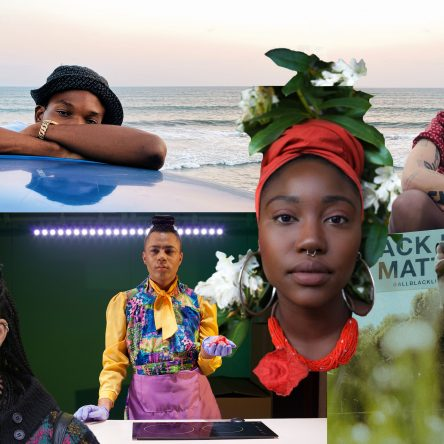 Collage of the 6 Black creatives featured in the article