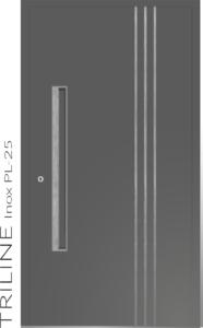 Haustür Trilinie Inox PL-25