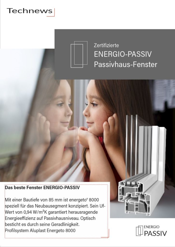 Passivhaus Fenster, Fenster für Passivhaus