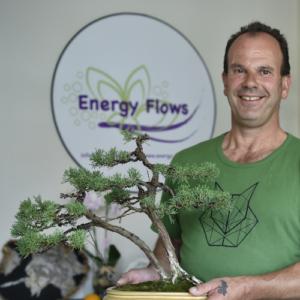 Energy Flows bonsai Javie met juniperus