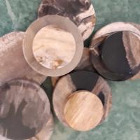 Versteend hout stralingsteen