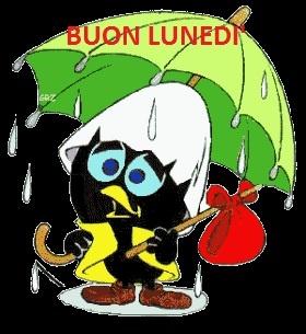 Immagini Buon inizio di settimana - Buon Lunedi piovoso