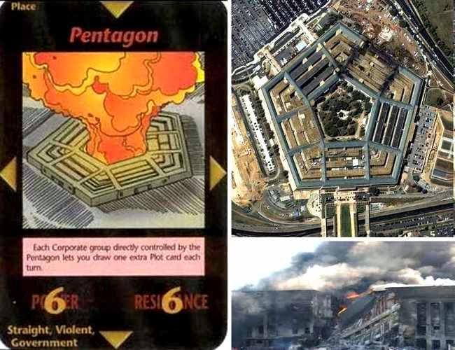 Pentagono carta illuminati