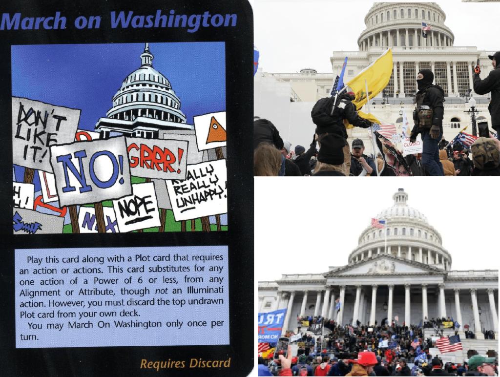 Profezia carte illuminati March on Washington