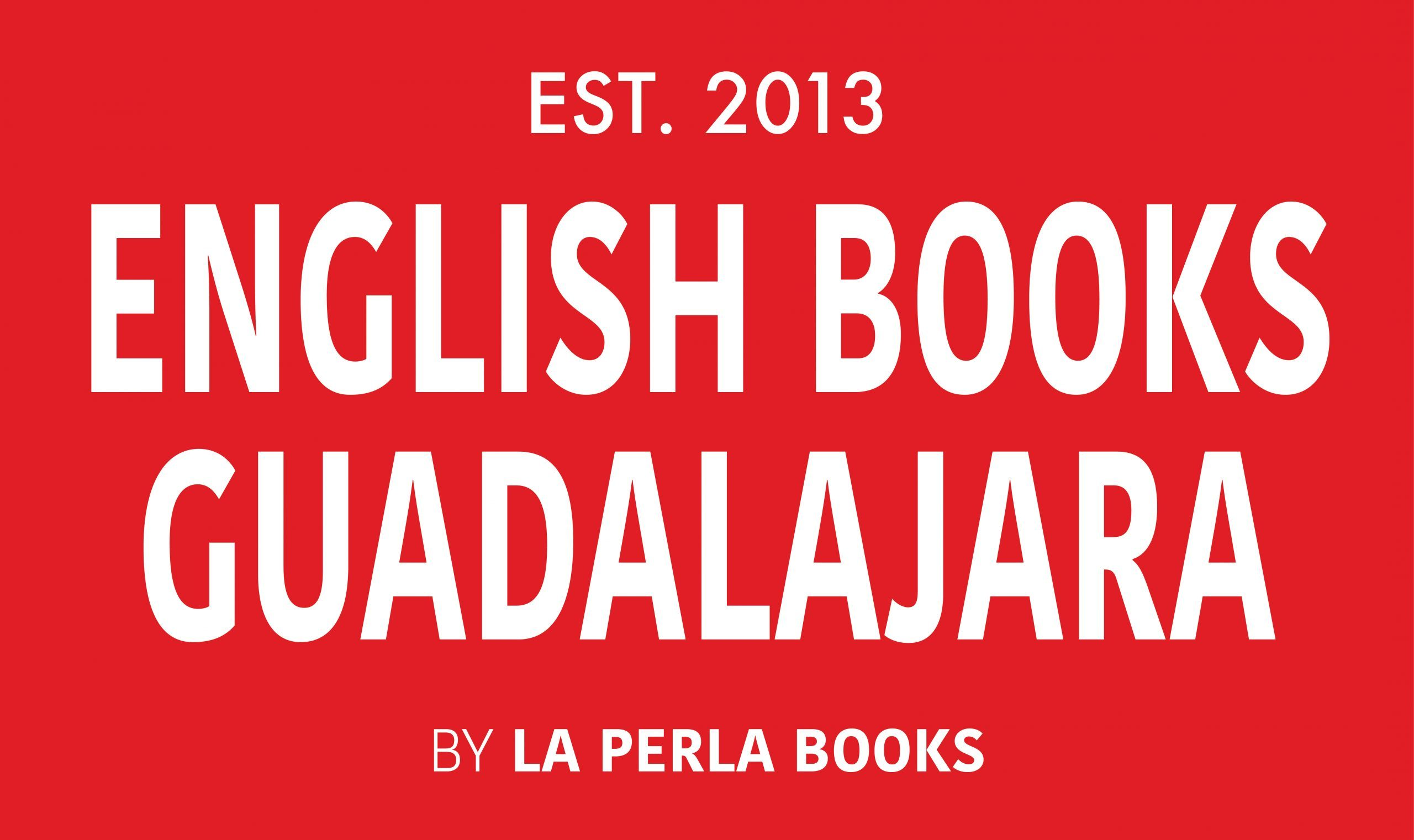 English Books Guadalajara Mexico Logo