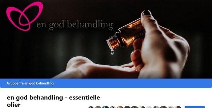 Facebook gruppe essentielle olier