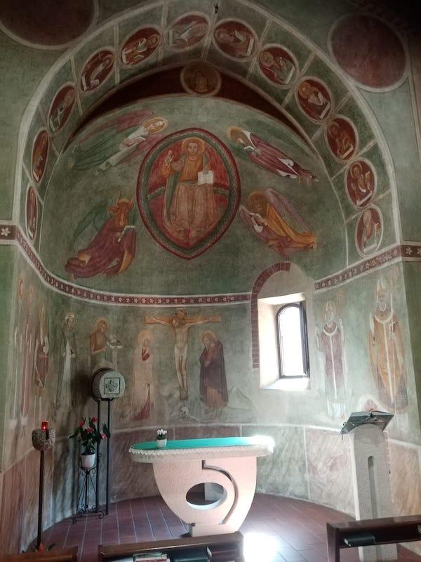 abside chiesa di san siro alla vepra