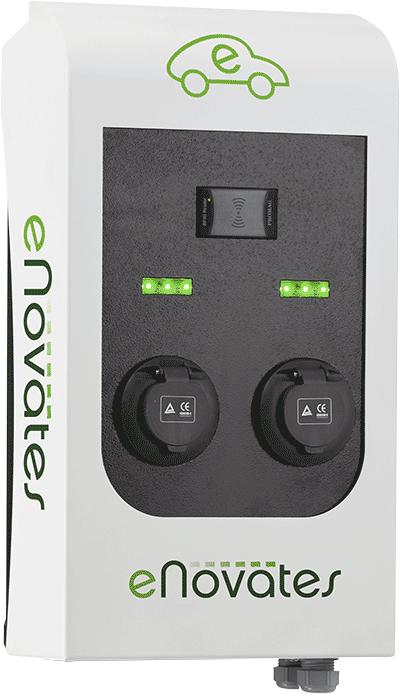 eNovates Dual Wallbox Series