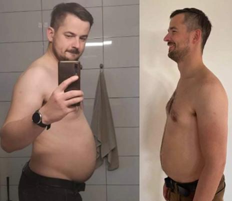 Client 7 weeks progress
