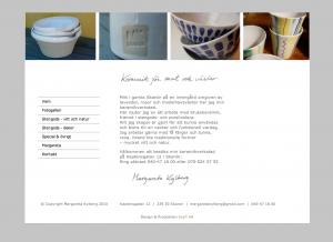 Keramik för mat och växter - Margareta Kylberg