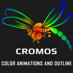 Cromos - color animations and outline