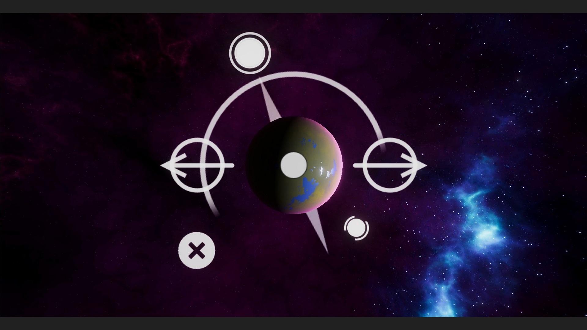 "Multiplatform (Desktop, Android, Gear VR) - ""essence game"" editing of celestial body"